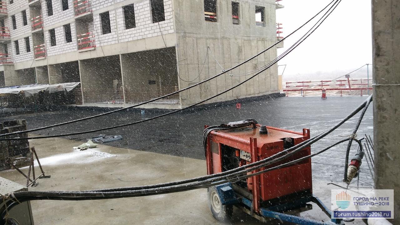 31.03.2017 Квартал 2 Первичная гидроизоляция стилобата