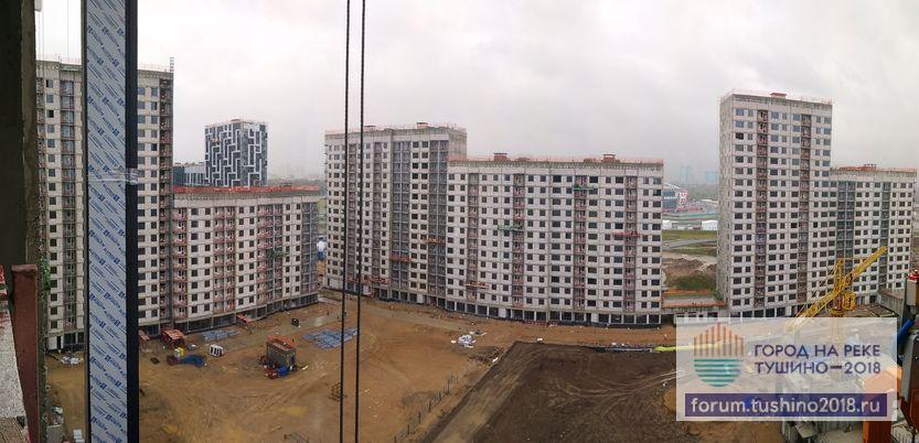 06.10.2017 Квартал 2 Панорама секций со двора
