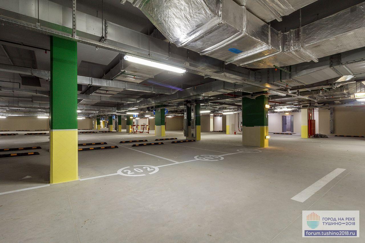 Квартал 1 Подземный паркинг