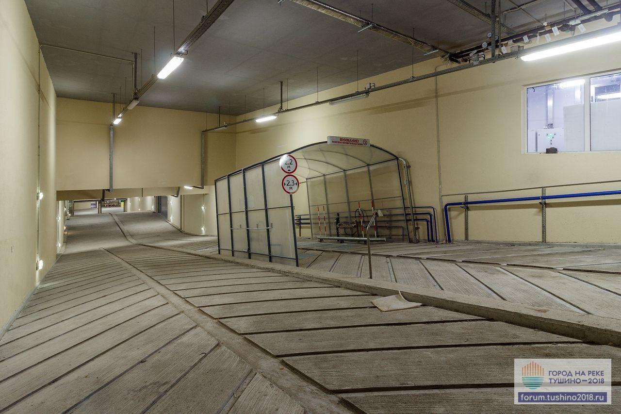 Квартал 1 Рампа подземного паркинга с мойкой