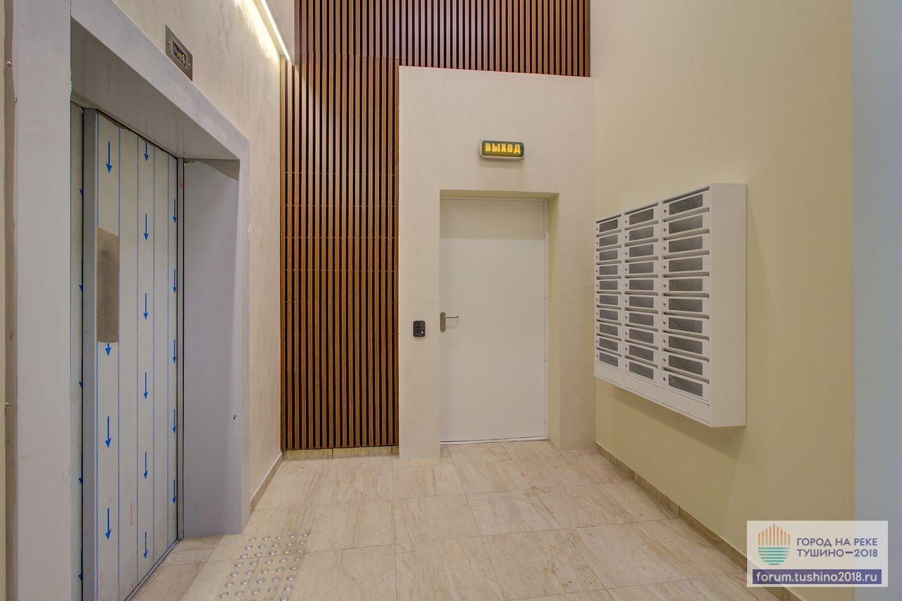 Квартал 1 Лифтовой холл входной группы