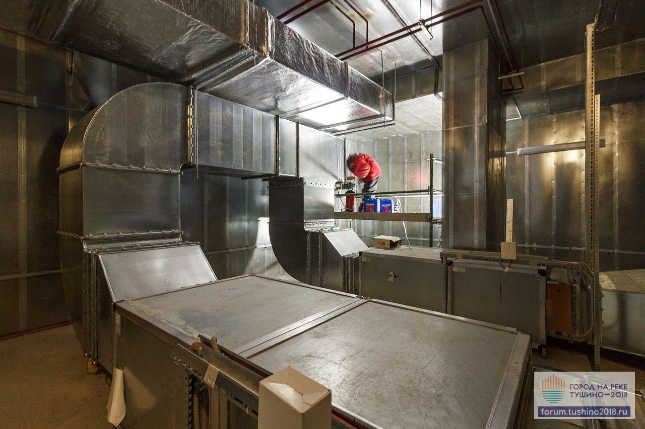 Квартал 2 Монтаж вентиляционного оборудования