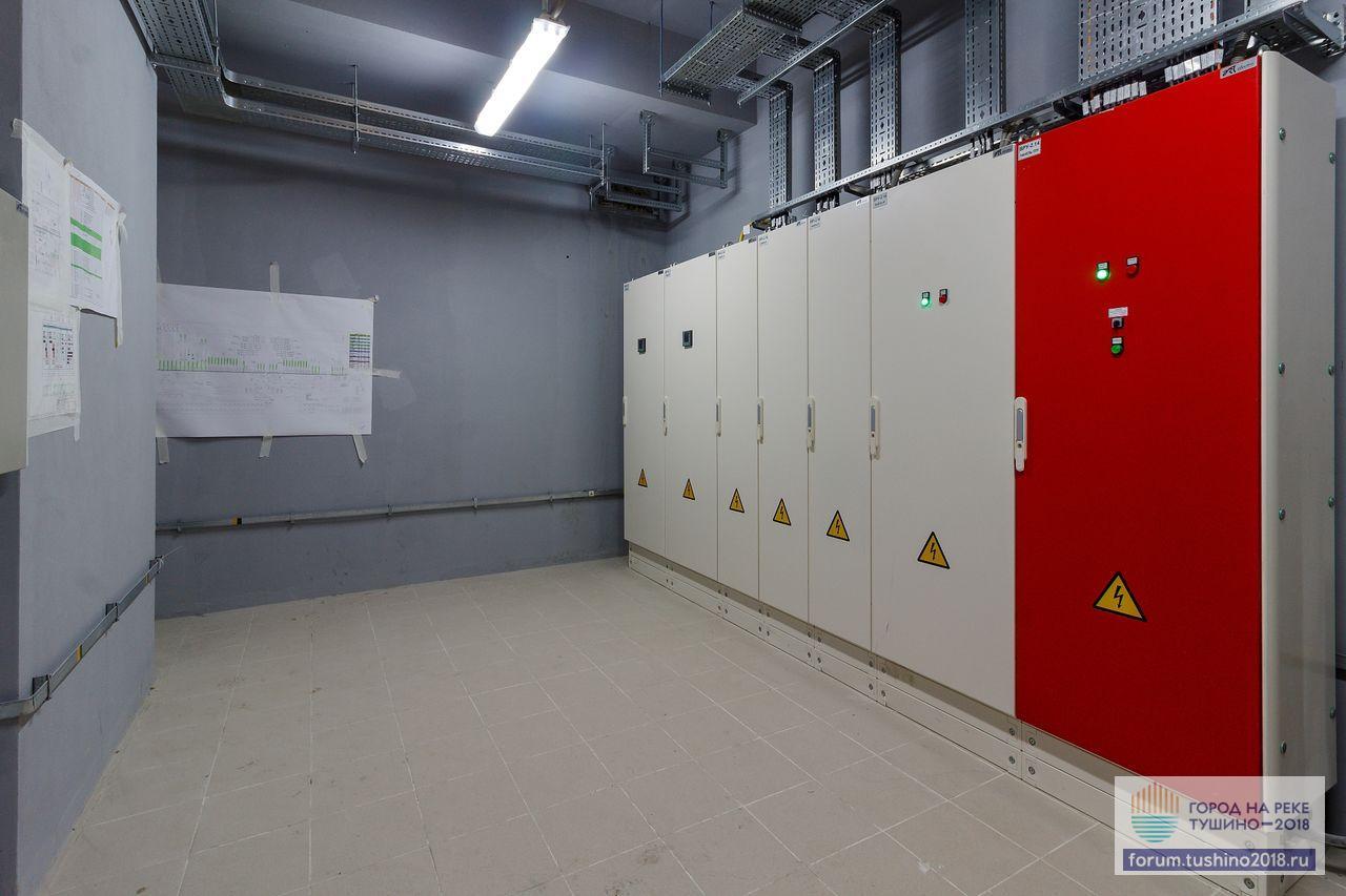 Квартал 2 Смонтировано оборудование ВРУ