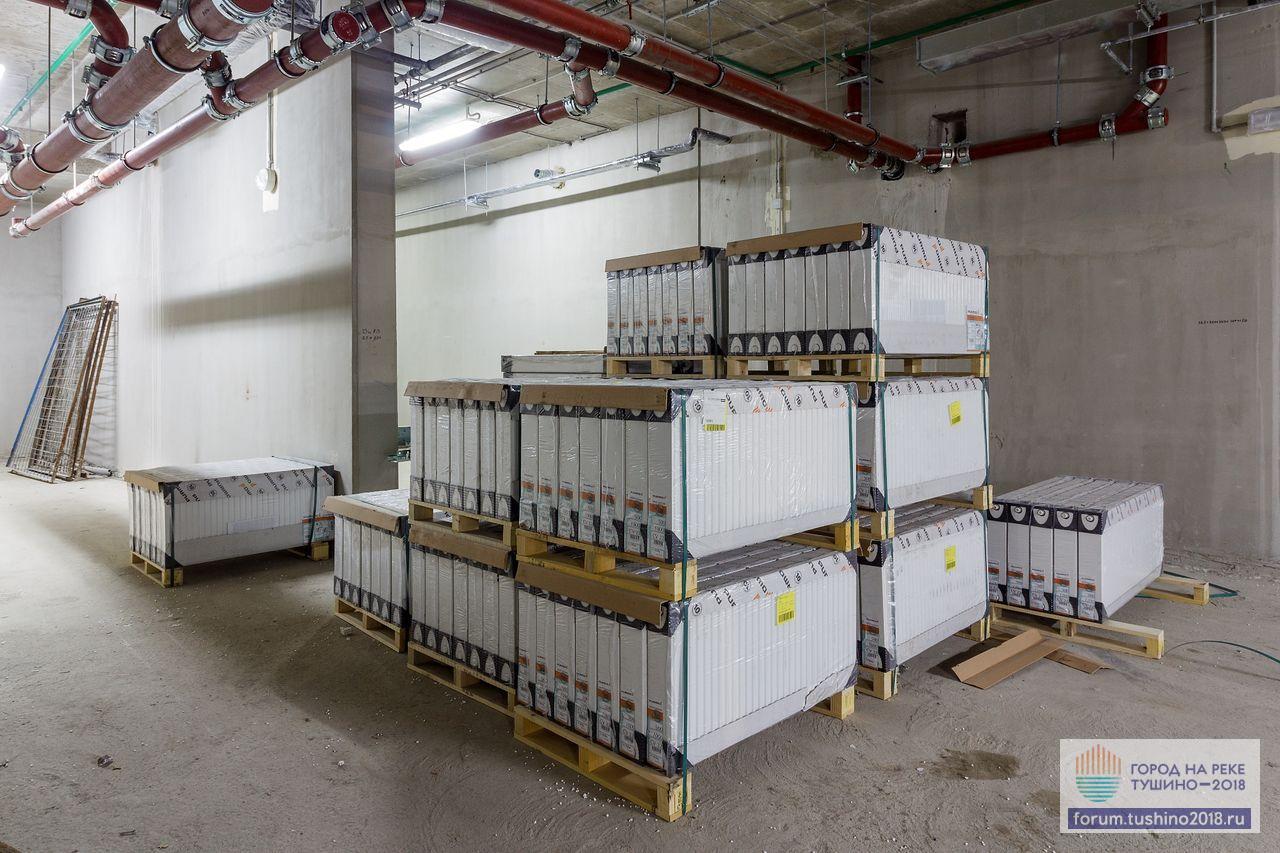 Квартал 2 Финские радиаторы Purmo перед монтажом