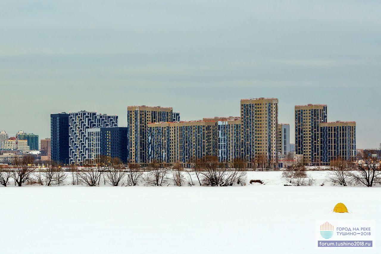 Кварталы 1-2 Панорама стройки