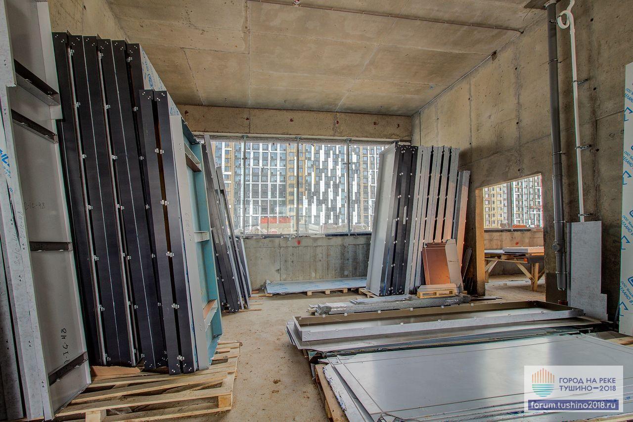 Квартал 2 Цех формирования фасадных панелей