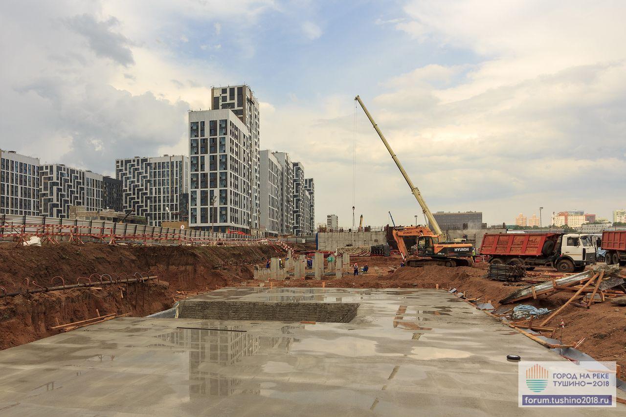 18.05.2018 Квартал 3 Подготовительные бетонные работы