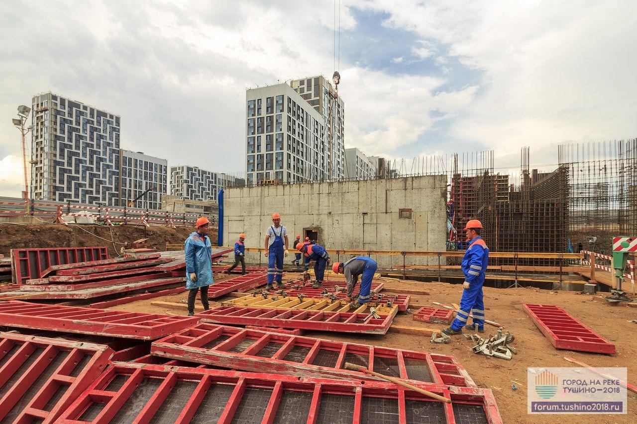 18.05.2018 Квартал 3 Подготовка опалубки к монтажу